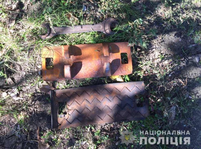 Без Купюр Житель Світловодська вкрав 90 металевих деталей з колій Кримінал  Світловодськ поліція крадіжка