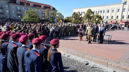У Кропивницькому відзначили День захисника України й нагородили військових. ФОТО