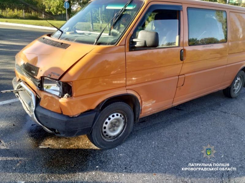 Без Купюр У Кропивницькому Daewoo зіткнувся з Volkswagen. ФОТО За кермом  Патрульна поліція ДТП