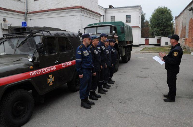 Без Купюр   Життя   Кропивницькі піротехніки вирушили на допомогу в Чернігівську область 1