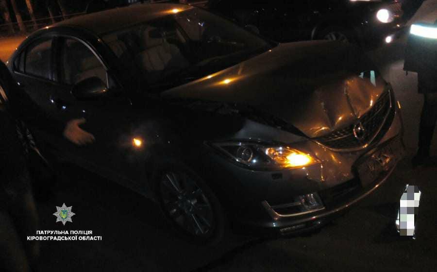 У Кропивницькому п'яний водій скоїв ДТП і заявив у поліцію про викрадення його авто. ФОТО - 4 - За кермом - Без Купюр