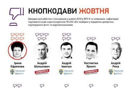 Двох нардепів з Кропивницького піймали на кнопкодавстві. ВІДЕО