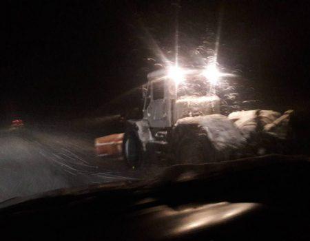 Дорожники відзвітували про розчистку доріг на Кіровоградщині. ФОТО