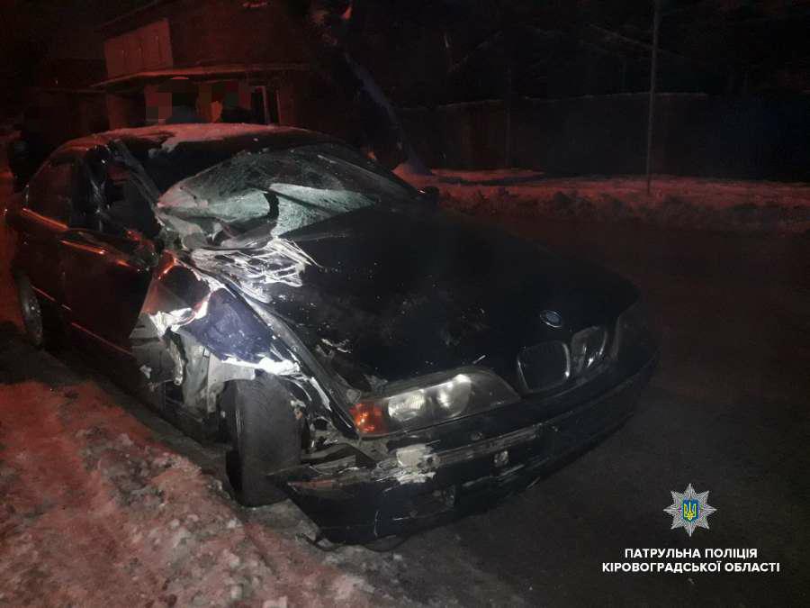 У Кропивницькому вночі трапилась ДТП з постраждалими. ФОТО 1