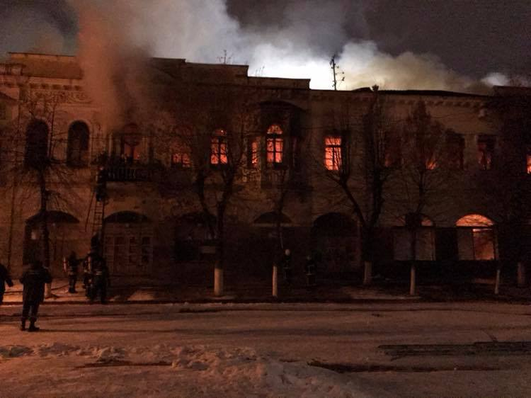 Власників постраждалих під час пожежі пам'яток архітектури на Дворцовій зобов'яжуть їх відновити - 1 - Життя - Без Купюр