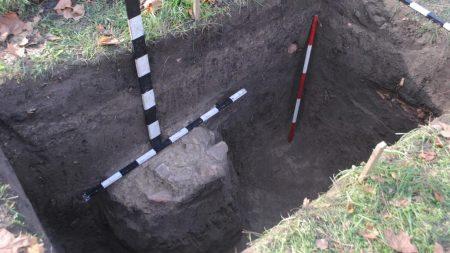 У Кропивницькому на території фортеці св.Єлисавети археологи знайшли залишки інтер'єру будівлі 18 століття. ФОТО