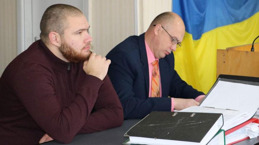 Владислав Жимінюк та адвокат Сергій Рябовол