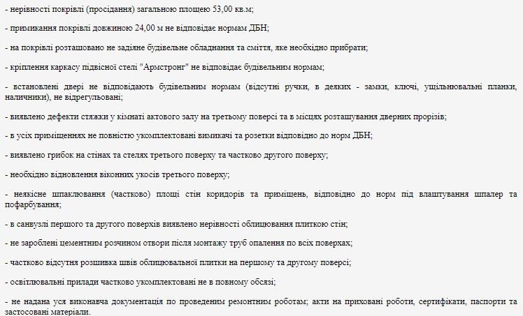 Управління Нацполіції Кіровоградської області відсудило 170 тисяч гривень за неякісний ремонт - 1 - Закупівлі - Без Купюр