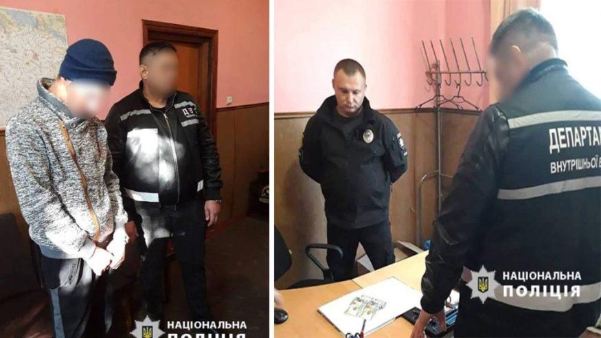 Без Купюр На Кіровоградщині затримали чоловіка, який пропонував поліцейському 200 доларів Корупція  спроба підкупу Кіровоградщина