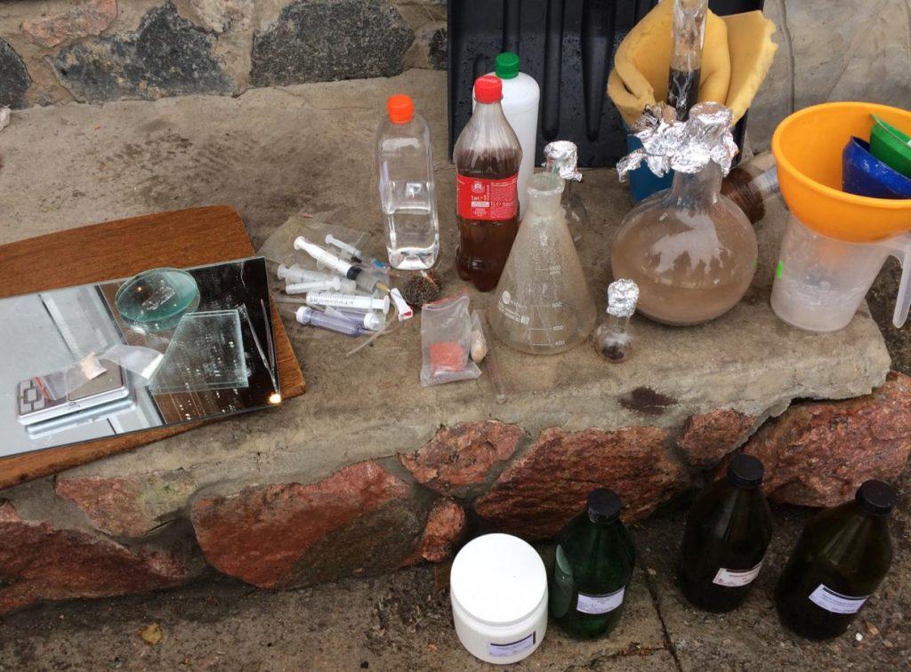 Без Купюр На Кіровоградщині поліцейські припинили діяльність нарколабораторії Кримінал  наркотики Кіровоградщина