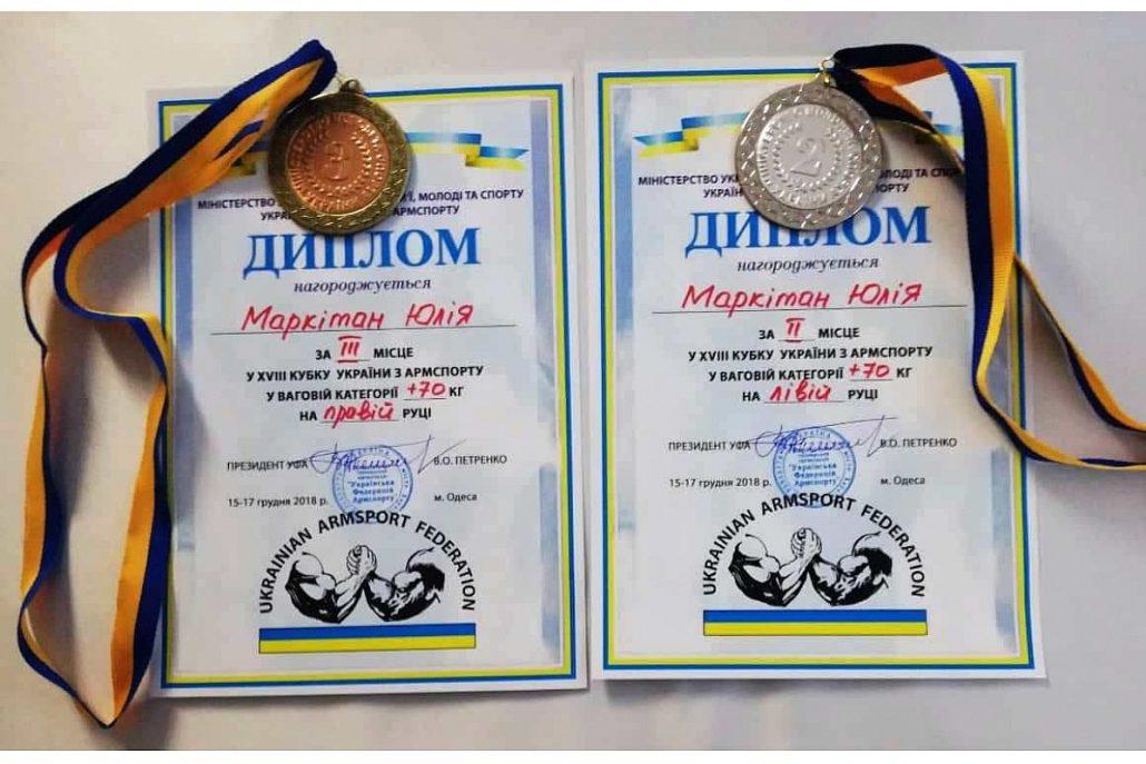 Кропивничанка виборола дві медалі на змаганнях з армспорту - 1 - Життя - Без Купюр