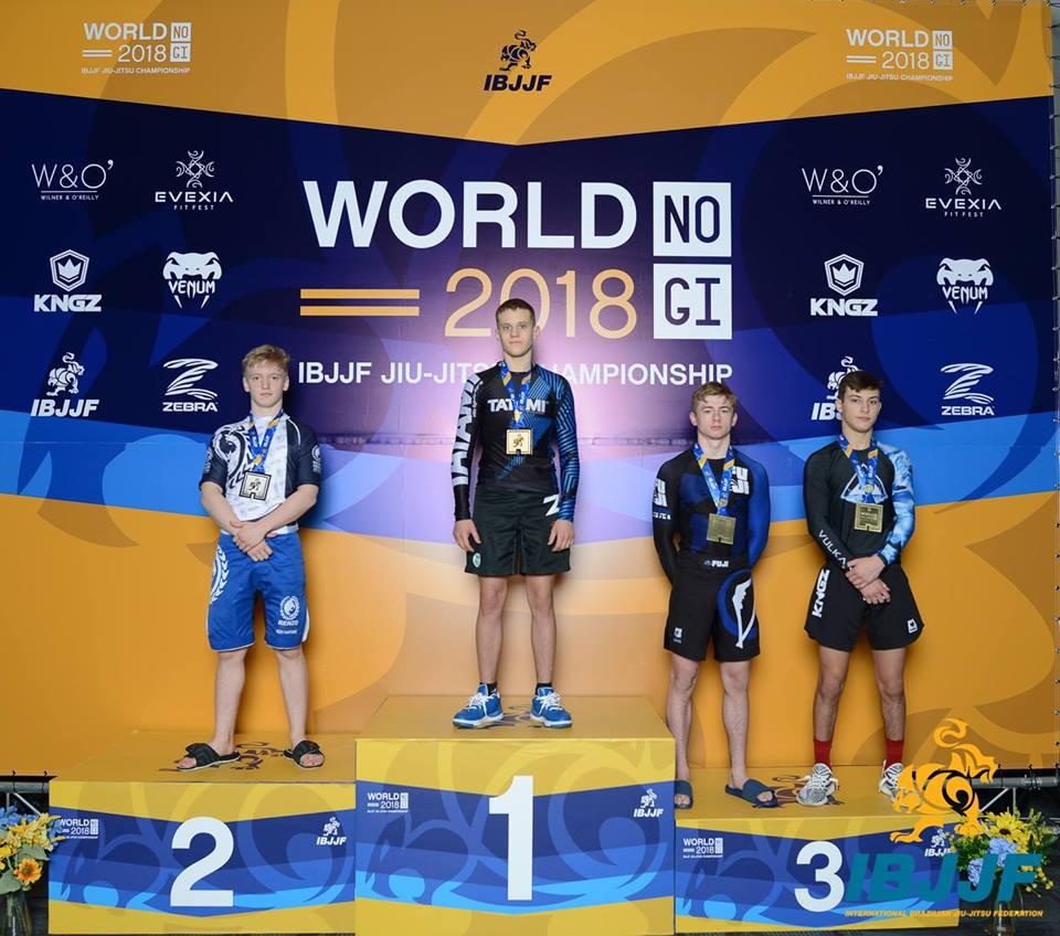 Без Купюр Кропивницький - Спорт - Юний кропивничанин став чемпіоном світу IBJJF з бразильского джиу-джитсу Фотографія 1
