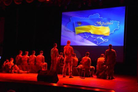 У Кропивницькому презентували виставу-реквієм «Війна без строку…»  пам'яті загиблих Героїв спецслужби