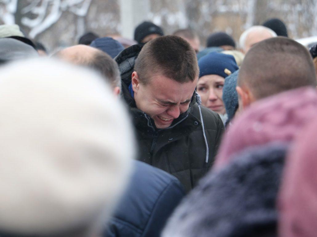 У Кропивницькому попрощалися зі старшим сержантом Віктором Куроп'ятником. ФОТО 9