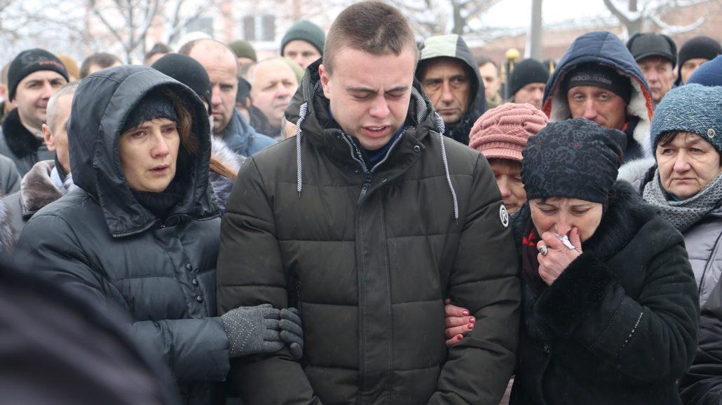 У Кропивницькому попрощалися зі старшим сержантом Віктором Куроп'ятником. ФОТО 11