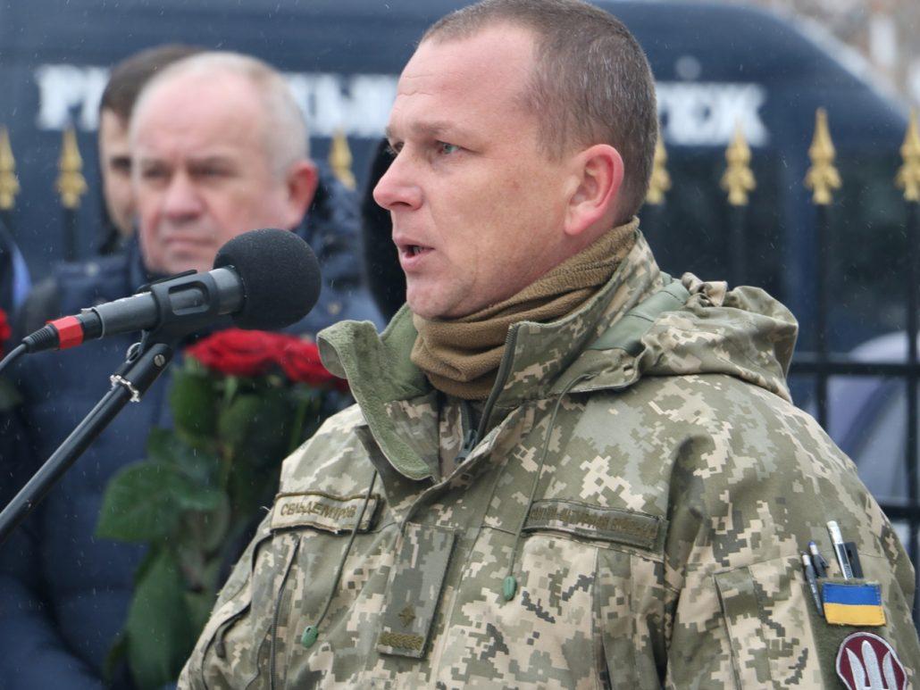 У Кропивницькому попрощалися зі старшим сержантом Віктором Куроп'ятником. ФОТО 10