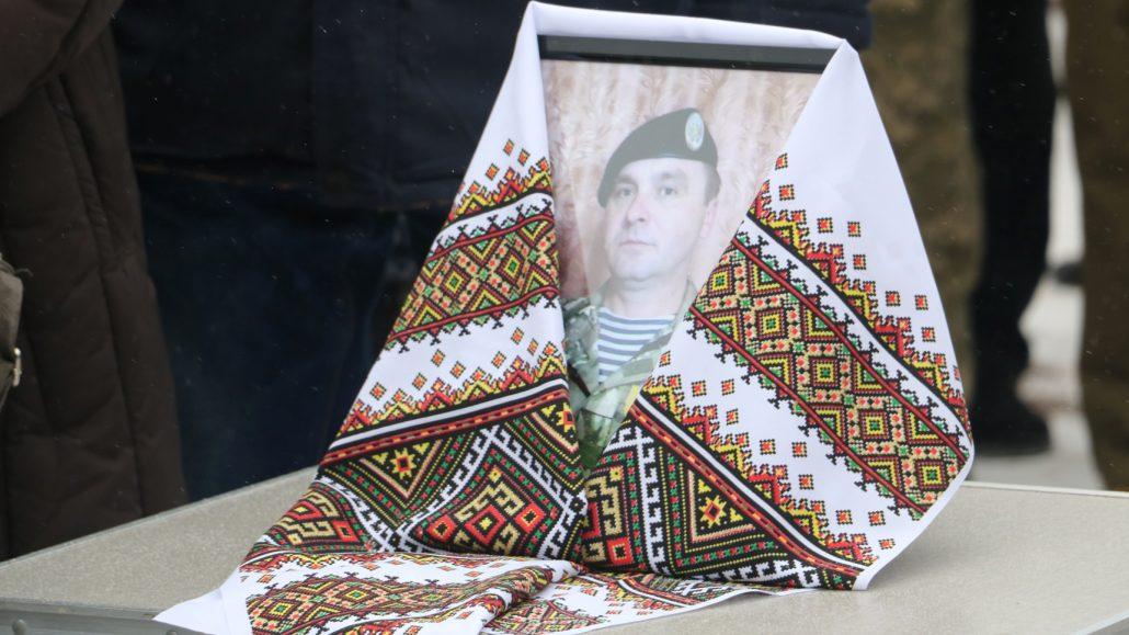 У Кропивницькому попрощалися зі старшим сержантом Віктором Куроп'ятником. ФОТО 1