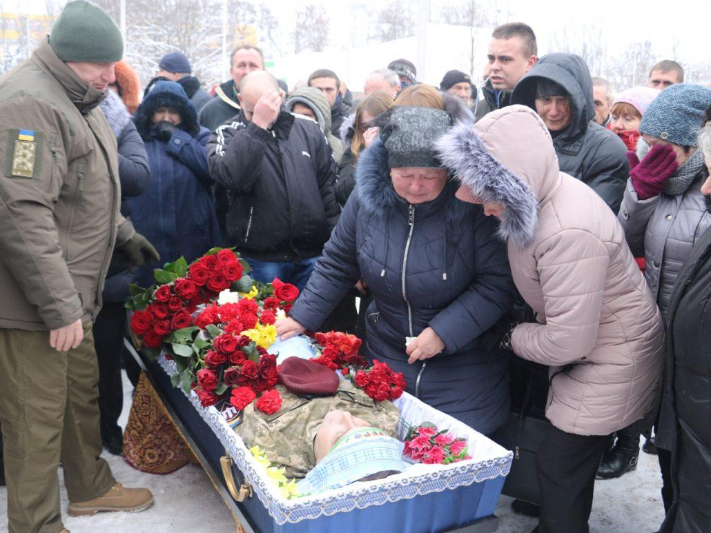 У Кропивницькому попрощалися зі старшим сержантом Віктором Куроп'ятником. ФОТО 14