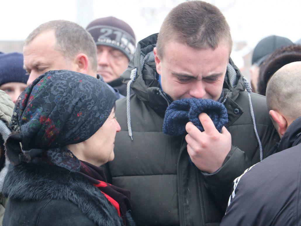 У Кропивницькому попрощалися зі старшим сержантом Віктором Куроп'ятником. ФОТО 15