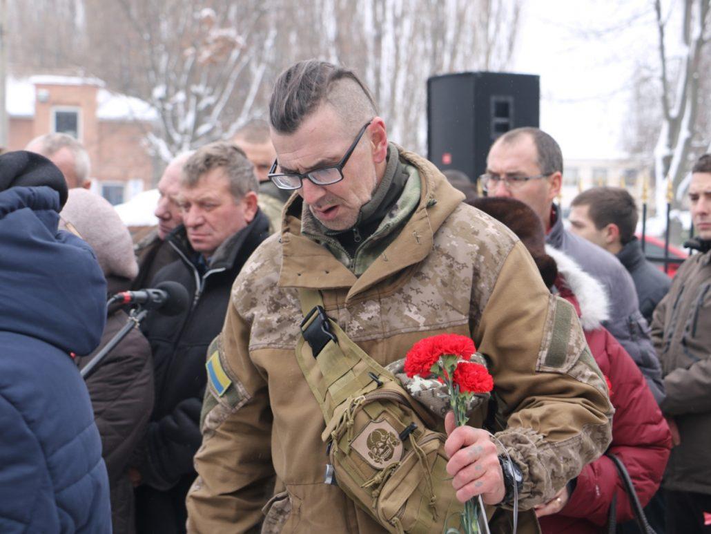 У Кропивницькому попрощалися зі старшим сержантом Віктором Куроп'ятником. ФОТО 18