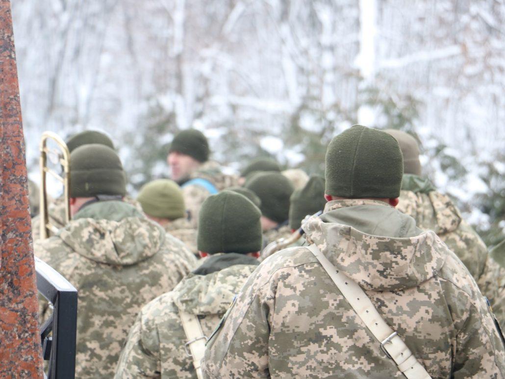 У Кропивницькому попрощалися зі старшим сержантом Віктором Куроп'ятником. ФОТО 20