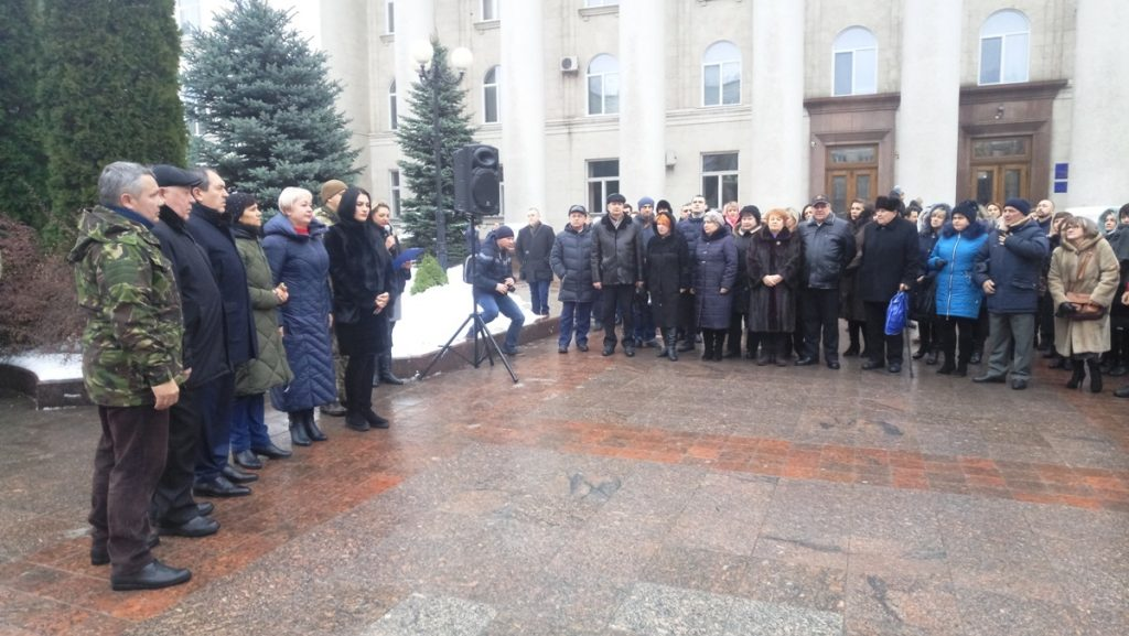 У Кропивницькому на підтримку військових моряків підняли прапор ВМС. ФОТО, ВІДЕО
