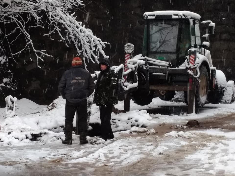 Проїзд під Аркою закрили через порив трубопроводу. Фото | FB Natali Andriyanova