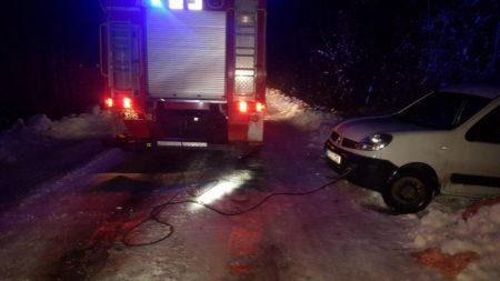 На Кіровоградщині рятувальники тричі за добу допомагали водіям на складних ділянках доріг
