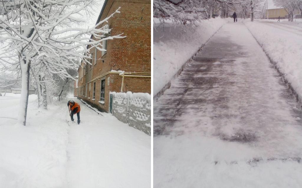 Комунальники Кропивницького відзвітували про розчистку доріг від снігу. ФОТО 8