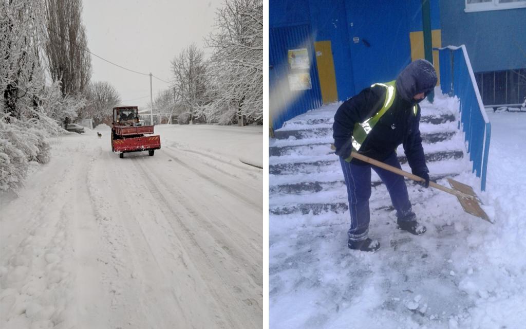 Комунальники Кропивницького відзвітували про розчистку доріг від снігу. ФОТО 7