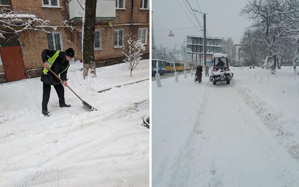 Комунальники Кропивницького відзвітували про розчистку доріг від снігу. ФОТО 6