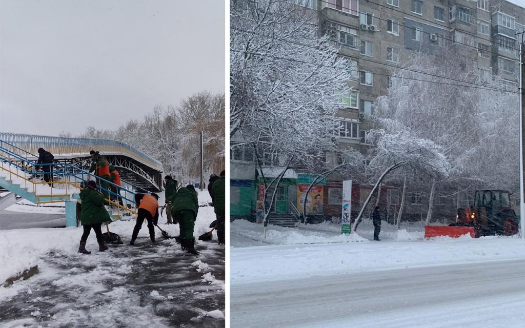Комунальники Кропивницького відзвітували про розчистку доріг від снігу. ФОТО 4