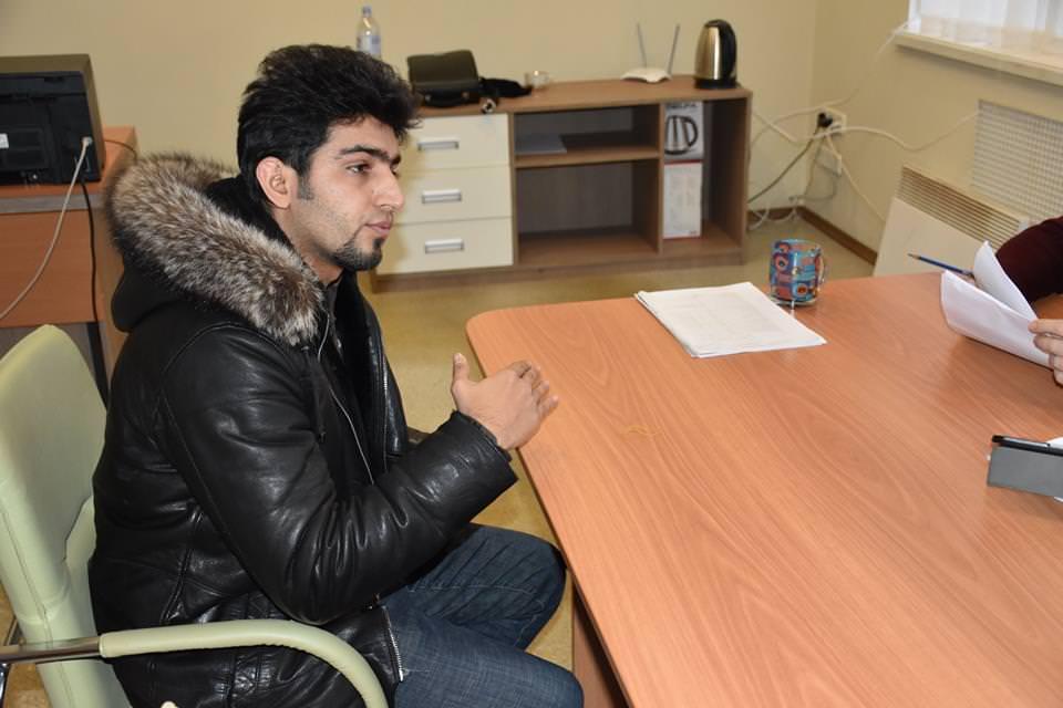 Ігбал розповів, що перші два курси навчався в Китаї, потім вирішив перевестись до України.