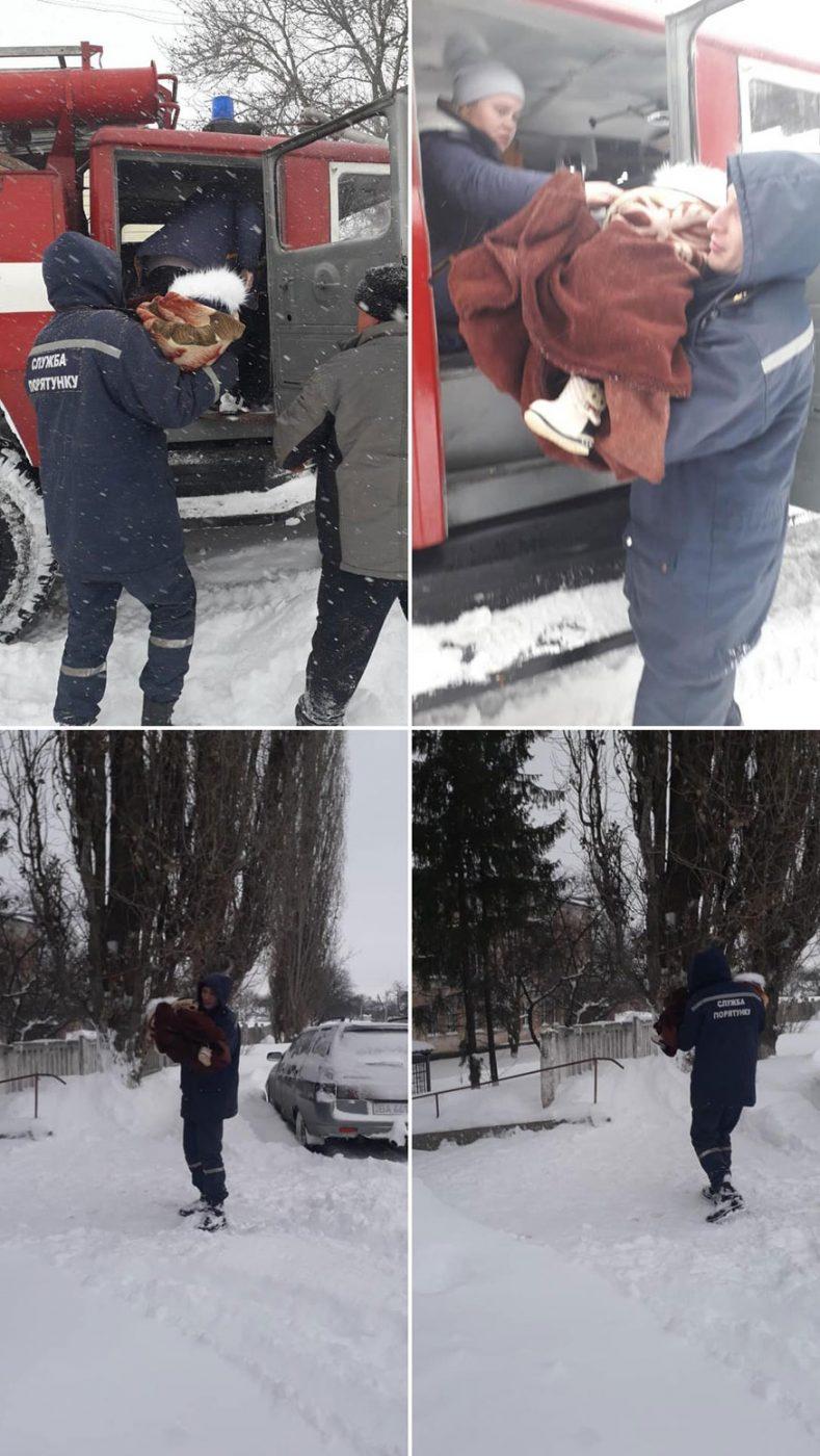 Снігова негода вирує на Кіровоградщині. ФОТО. ВІДЕО 6