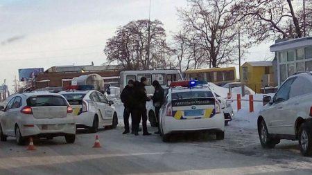 У Кропивницькому сталася ДТП за участі автомобіля патрульної поліції та «ЗАЗ Forza». ФОТО