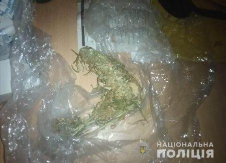 Поліцейські вилучили у кропивничанина амфетамін, метадон та марихуану. ФОТО