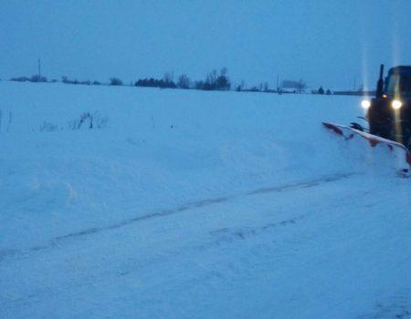 На Кіровоградщині 118 дорожників забезпечили проїзд автошляхами державного значення