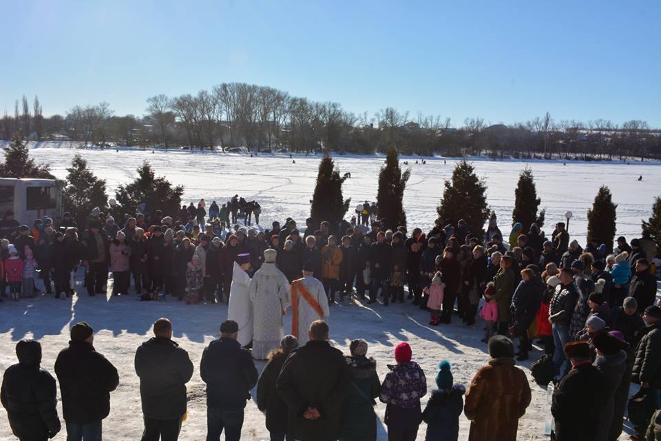 У Кропивницькому святкують Водохреща.  Поради рятувальників. Фото - 1 - Життя - Без Купюр