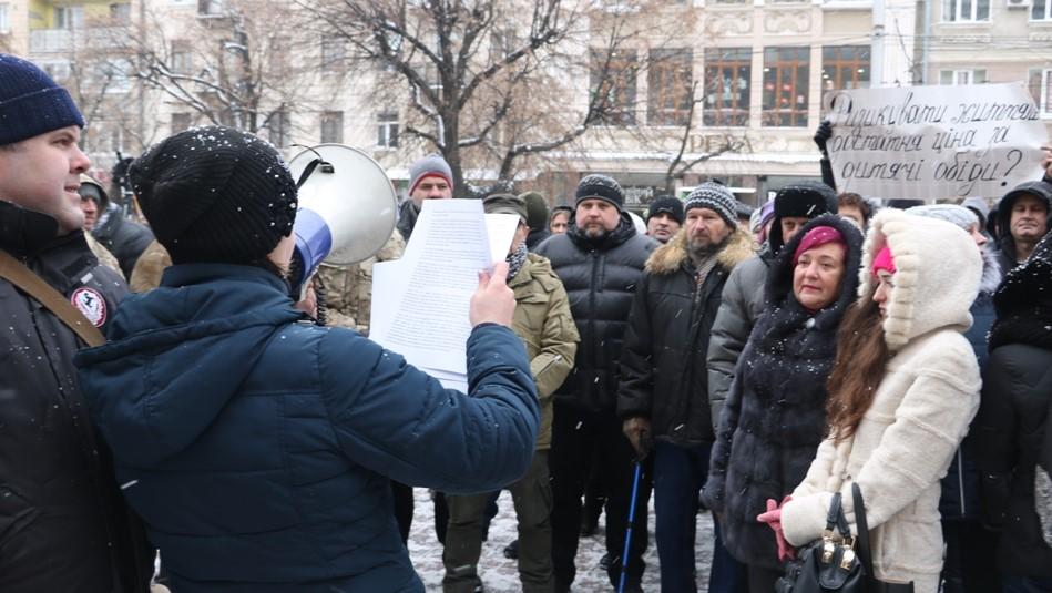 Без Купюр | Найважливiше | У Кропивницькому мітингували через скасування у садочках пільг для дітей учасників АТО. ФОТО 4