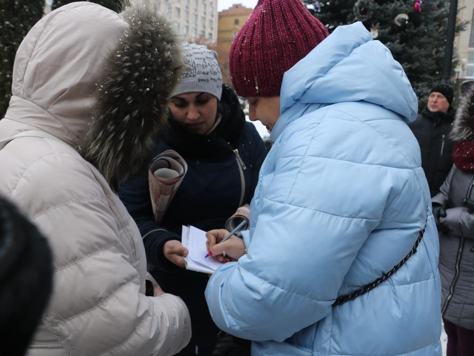 Без Купюр | Найважливiше | У Кропивницькому мітингували через скасування у садочках пільг для дітей учасників АТО. ФОТО 3