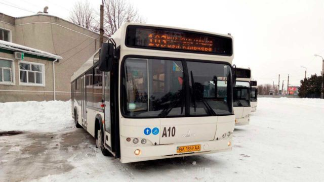 У Кропивницькому збільшилась кількість автобусів і змінився графік руху на маршруті 103