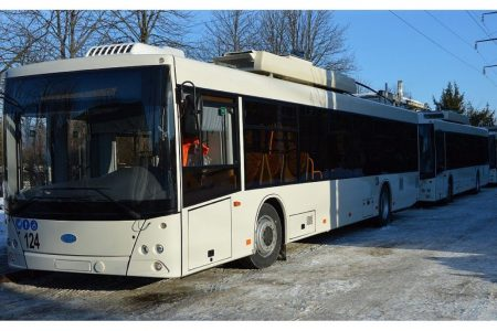 У Кропивницькому тролейбуси з автономним ходом вирушать на тестовий маршрут