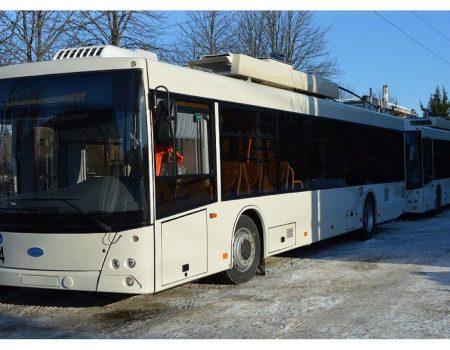 """На період карантину два тролейбуси вийшли на новий маршрут """"Жадова — Онкоцентр"""""""