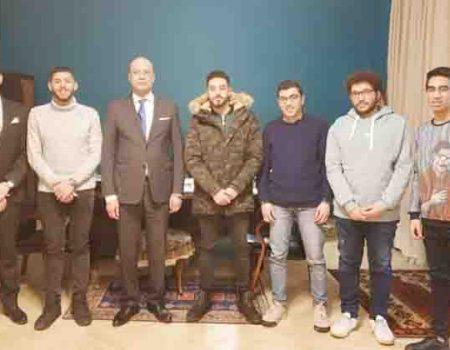 Студенти кропивницького медвишу зустрілись з послом Єгипту