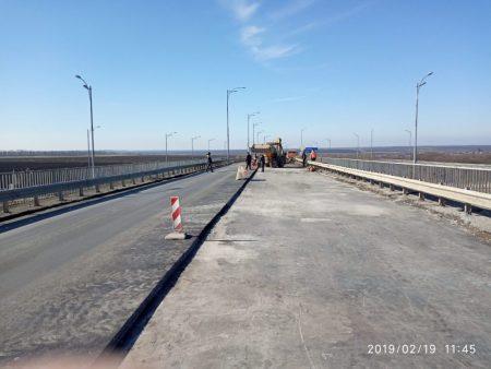 На Кіровоградщині ремонтують міст на трасі Київ-Одеса