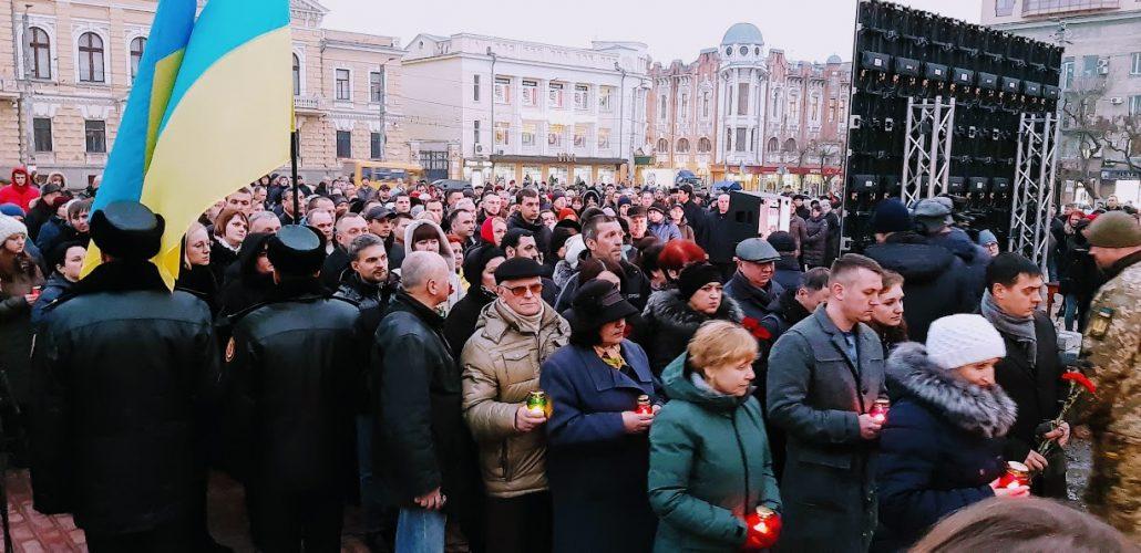 У Кропивницькому запалали лампадки і помолились про полеглих Героїв Майдану - Фоторепортаж 5