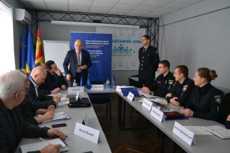 """У Кропивницькому ГМ """"Опора"""" і поліція обговорили  продидію порушенням виборчого процесу"""