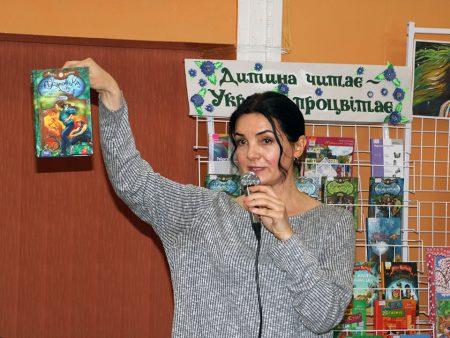 У Кропивницькому популярна письменниця Марина Павленко  зустрілась з читачами