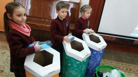 «Екостайл» провів для кропивницьких школярів урок екологічного виховання. ФОТО