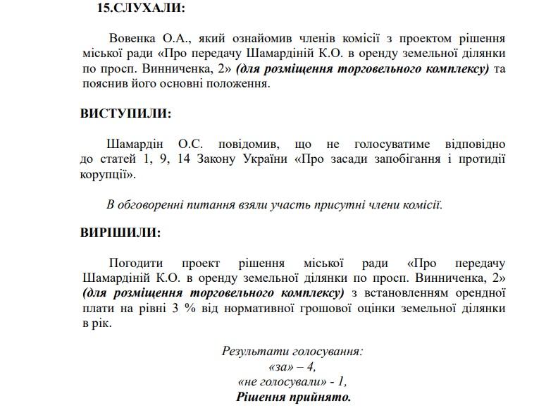 На сесії міськради Кропивницького вирішили земельні питання членів трьох депутатських фракцій 3